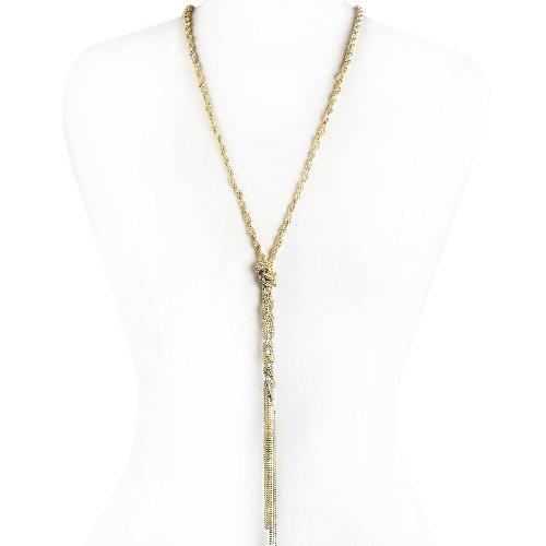 Jollie Gold Chain Fashion Necklace