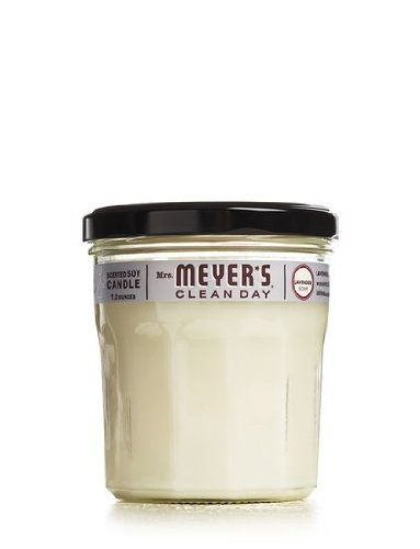 Mrs. Meyer's Clean Day Lavender Aromatherapy Natural Multi Surface Cleaner-Soy Candle