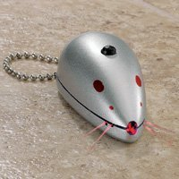 Dog or Cat Toy Laser Mouse, Laser Beam Pointer for Trainning or Fun. Perfect Cat Gift