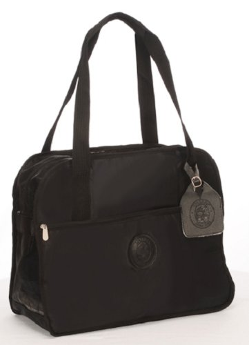 Sherpa 43231 Tote Around Town Pet Carrier, Medium, Black with Black Trim