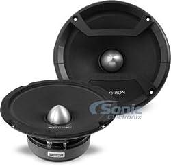 See New Pair of Orion Cobalt CM64 600 Watt 4-Ohm Loud Car Audio Mid-Range Speakers Details