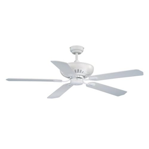 Vaxcel USA FN52314W, Chastity Traditional 5 Blade 52 inch Ceiling Fan, Oil Rubbed Bronze, B8214