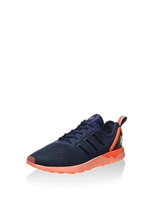 adidas Zapatillas Zx Flux Adv (Azul / Naranja)