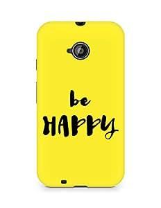 AMEZ be happy Back Cover For Motorola Moto E2