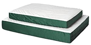 Midwest Quiet Time e'Sensuals Double-Thick Ortho Pet Bed Forest Green 30 Inches by 40 Inches