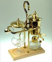 Royal Belgian Balancing Siphon Coffee Maker Gold Polished Brass (Royal Siphon Coffee Maker compare prices)