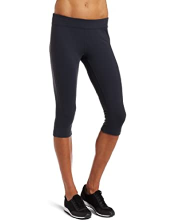 MPG Sport Women's Fitted Knee Length Tight, Smoke, X-Large