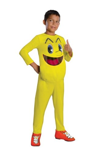 Kids Pac-Man and The Ghostly Adventures Costume. 3 Sizes