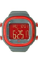 Adidas Sport Digital Seoul Red-orange Dial Men's watch #ADH2131