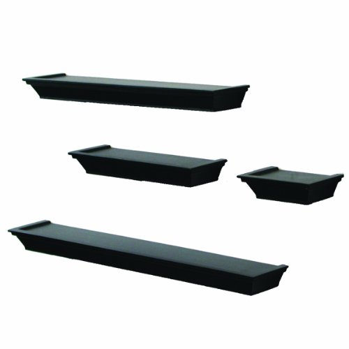 New 4 Piece Decorative Display Floating Wall Shelf Ledge
