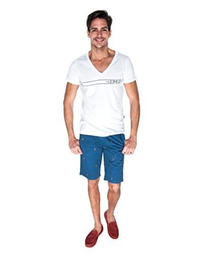 Giorgio Di Mare Camiseta Manga Corta Blanco