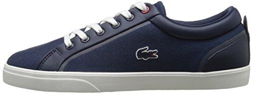 Lacoste Women's Lenglen 216 1 Fashion Sneaker, Navy, 7 M US