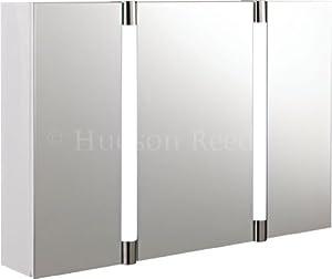 hudson reed lq057 armoire rangement pharmacie salle de bain 3 portes miro. Black Bedroom Furniture Sets. Home Design Ideas