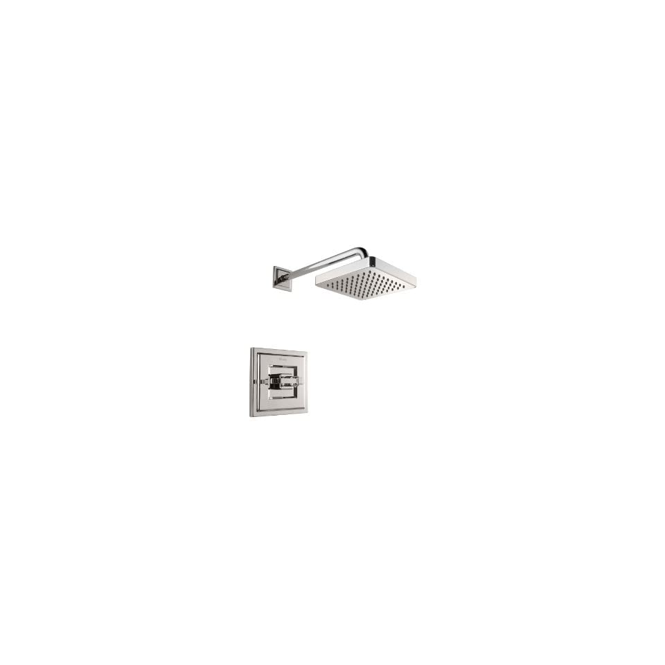 Pfister R897WED Polished Nickel Carnegie Carnegie Shower Valve Trim Package with Single Metal Lever Handle R897 WE