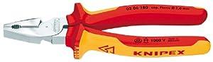 Knipex 02 06 180 VDE Kraft-Kombizange 190 mm
