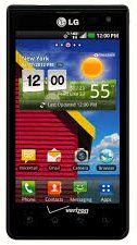 Verizon Prepaid Cell Phone LG Optimus Exceed 3G Android 4'' screen