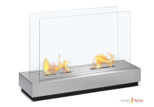 Moda Flame Braga Free Standing Floor Indoor Outdoor Ethanol Fireplace picture B00C20RTIM.jpg