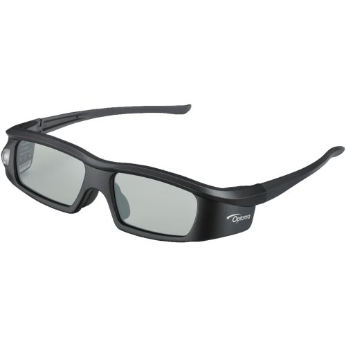 1 - Active Shutter 3D Glasses, Lightweight, Stylish Design For A Comfortable Fit, Batteries Provide Up To 60 Hours Of Use, Bg-Zd301