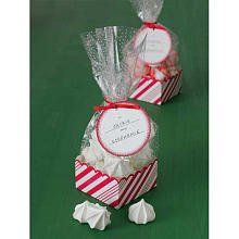 Martha Stewart Crafts Holiday Candy Cane Cello Bags