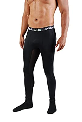 Best Men's Athletic Compression Pants - Toolshed Men's Compression Pants - Created by Former MLB Player Gregg Olson and Endorsed by Pro Athletes - 2 Colors Available - Perfect Sportswear for Football, Basketball, Baseball, Running, Cycling, Yoga, Skiing,