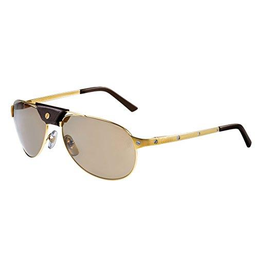 cartier-santos-de-cartier-t8200889-aviator-metal-men-satin-matte-gold-brown-polarizedt8200889-61-16-