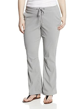 Columbia Ladies Big Anytime Outdoor Boot Cut Pant Plus by Columbia