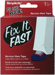Lowest Prices! Wrights 881917 Fix It Fast No Iron Hem Tape, 5-Yard