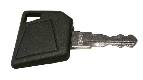 Ignition key for Bobcat, Bomag, Caterpillar, Dynapac, Ford, Gehl, Hamm, Hang, JCB, Moxy, New Holland, Rayco, Sky Trak, Terex, Vibromax, Volvo, Part