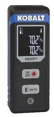 Kobalt 50 Foot Indoor Laser Distance Measurer