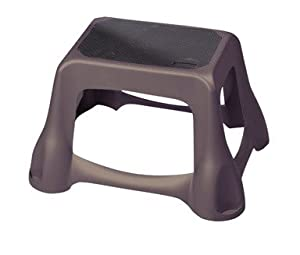 Rubbermaid Educational Products - Step Stool Wimt Gray Case Of 1 - Great To Have When Something Is Just Out Of Reach from Rubbermaid