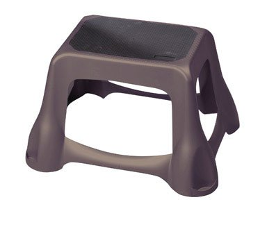 RUBBERMAID,INC. 4B3800CYLND LARGE STEP STOOL - GRAY