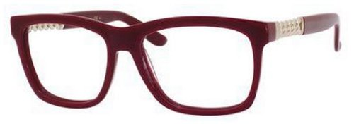 Yves Saint Laurent Yves Saint Laurent 6382 Eyeglasses-0LHF Opal Burgundy-53mm