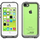 Lifeproof iPhone 5c Fre Case - Carrying Case - Retail Packaging - White/Clear