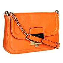 Hot Sale Michael Kors Deneuve Small Shoulder Flap (Tangerine)