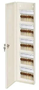 Master Lock 7124D Heavy Duty Key Cabinet, 28-3/4 x 7-1/2 x 3 Inch