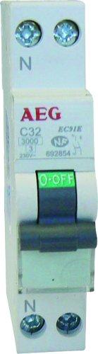 AEG AUN692854 Circuit Breaker Phase and Neutral 32 A