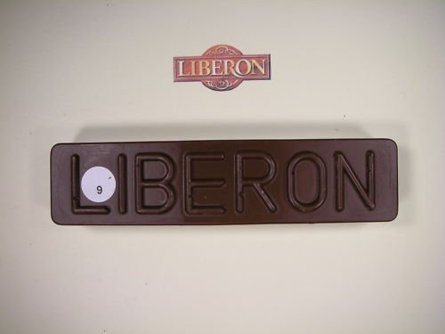 Liberon - Cera para rellenar agujeros en madera, barra de 50 g, color nogal oscuro