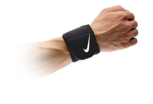 Nike Pro Combat Wrist Wrap 2.0 (OSFM, Black/White)