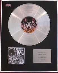 La crampi CD platinum disc-Off The Bone