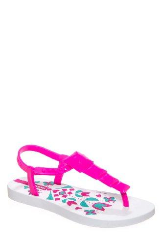 Ipanema Kid's Maya Thong Sandal - White Pink