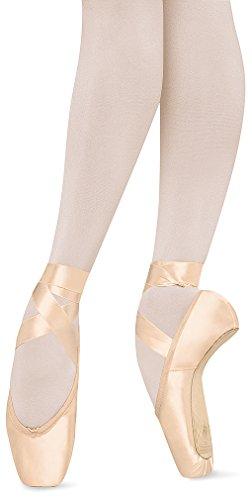 Bloch Women's Suprima Pointe Pink Ballet Flats 6 D