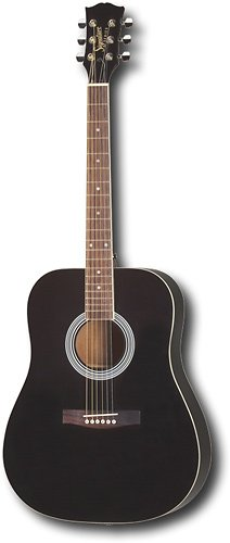 Maestro by Gibson Full Size Acoustic Guitar (Black)