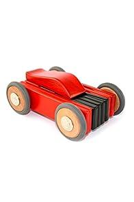 Tegu Magnetic Fair Trade Wooden Toys - Dart Car (Red)