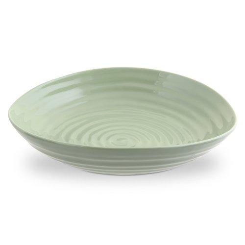 Portmeirion Sophie Conran Sage Pasta Bowl, Set Of 4