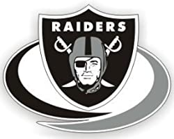 NFL Oakland Raiders Die-Cut Window Film - Large