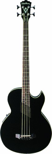 Washburn AB10BK Acoustic / Electric Bass Guitar