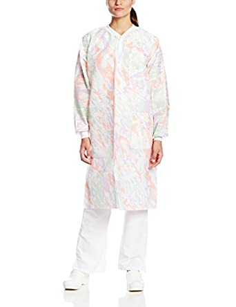 ValuMax Extra-Safe, Wrinkle-Free, Noble Looking Disposable SMS Knee Length Lab Coat, PGO Multicolor, Pack of 10