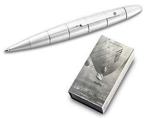 Giuliano Mazzuoli Nobile Italia Chrome Ballpoint Pen / Pencil (Matte Chrome)