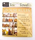 House Rules Tea Towel