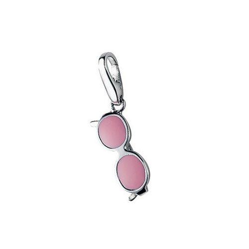 Giorgio Martello Charm Silver 488-809389 Lucky Sunglasses Pink
